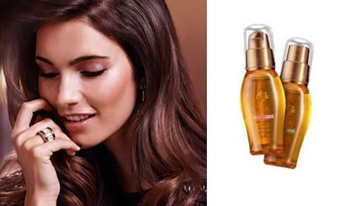 Защитное и разглаживающее масло для волос Орифлейм