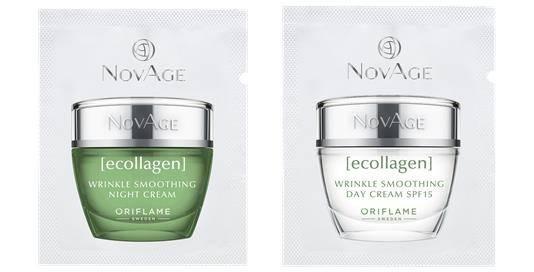 Набор пробников NovAge Ecollagen