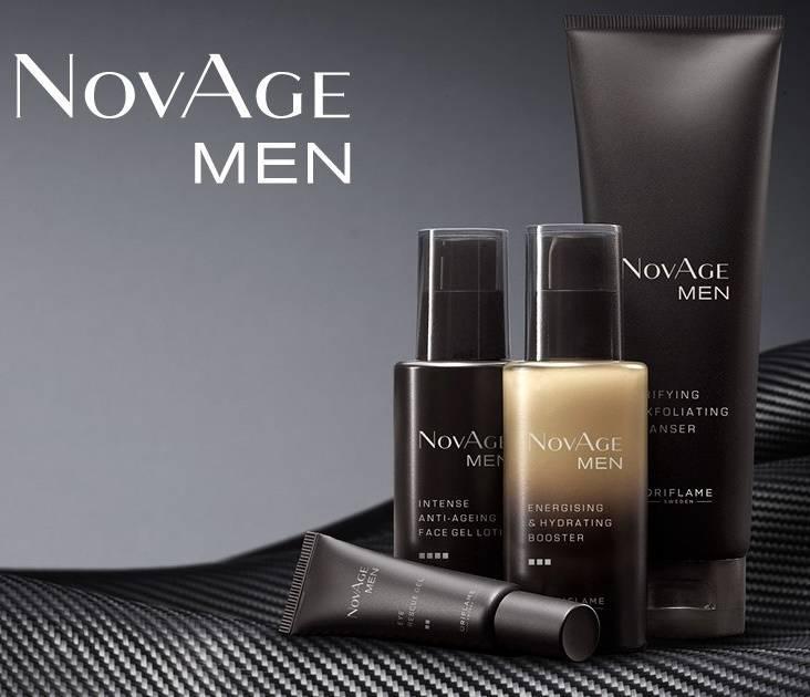 Комплексный уход за мужской кожей NovAge Men Oriflame