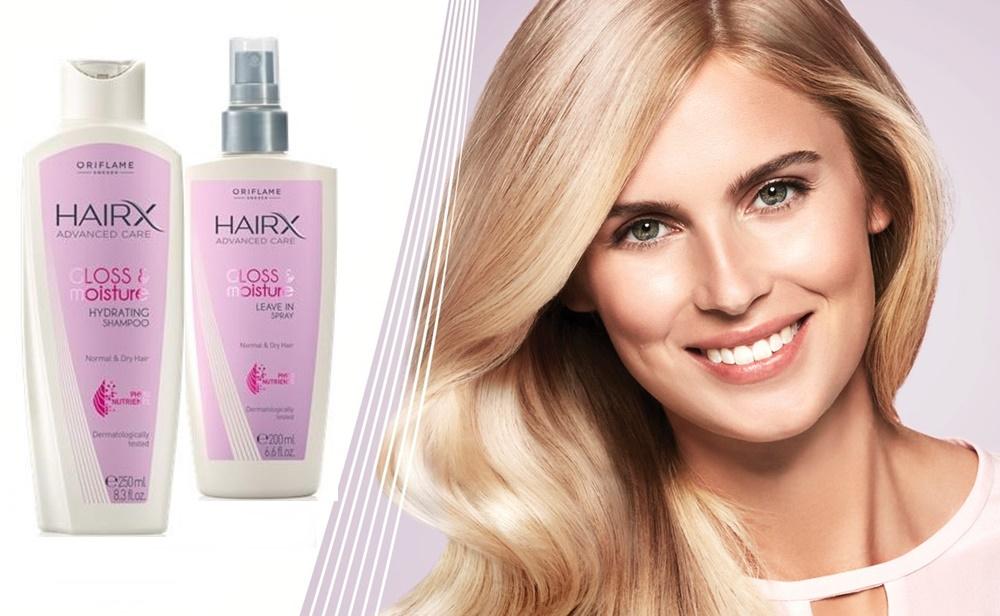 Увлажняющий шампунь для блеска волос